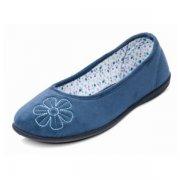Padders Joy 472 Denim (Blue) Slippers