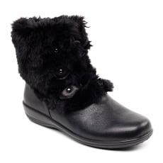 Padders Kim 530 - Ee/Eee Fit Black Boots