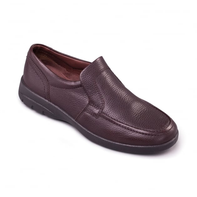 Padders Leo 614 Dark Brown Shoes