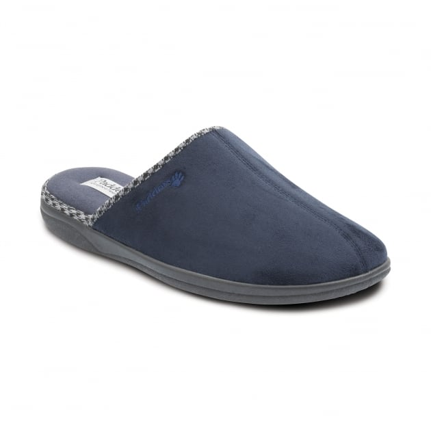 Padders Luke 471 Navy Slippers