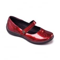 Padders Lyric 857 - Eee/Eeee Fit Red Shoes