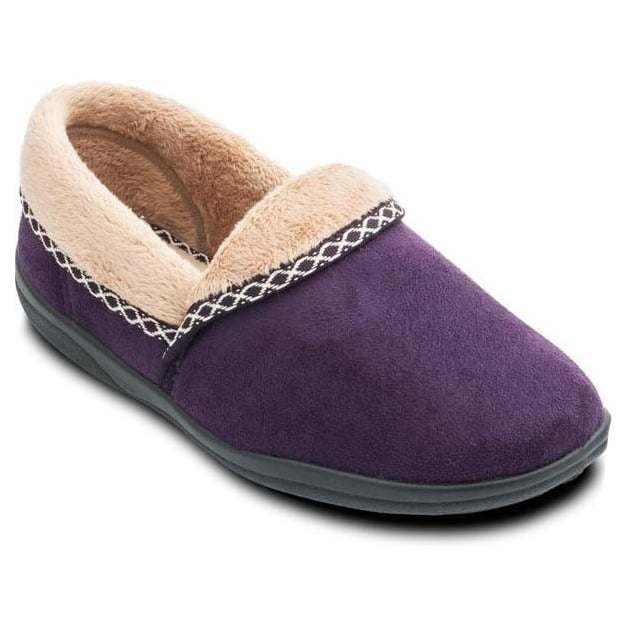 Padders Mellow 460 Ee Fit Purple Slippers