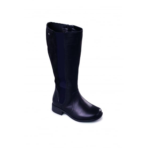 Padders Myra 542 - Eee Fit Black Boots