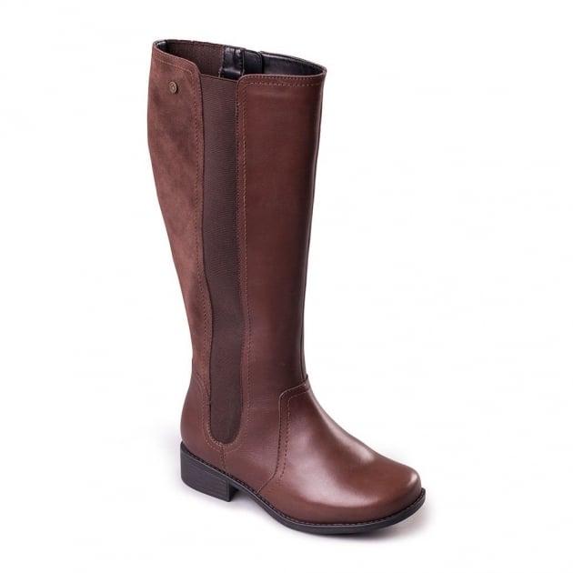 Padders Myra 542 - Eee Fit Brown Boots