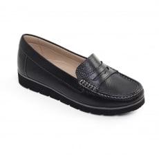 Padders Nola Black Shoes