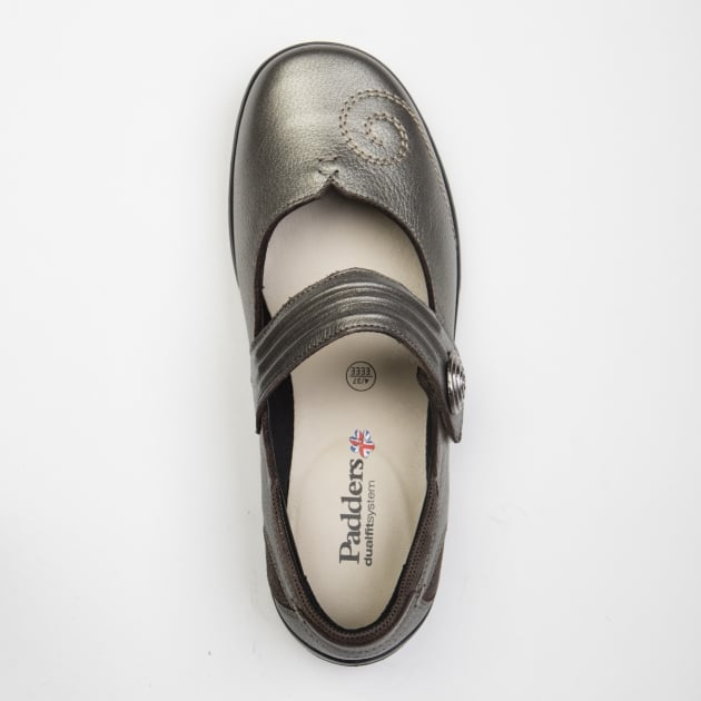 Padders Poem Pewter Shoes