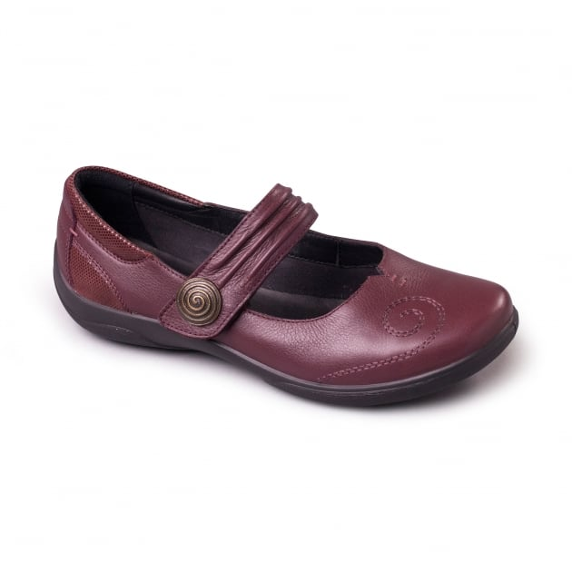 Padders Poem Plum Shoes