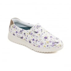 Padders Re Grow Purple Floral Shoes