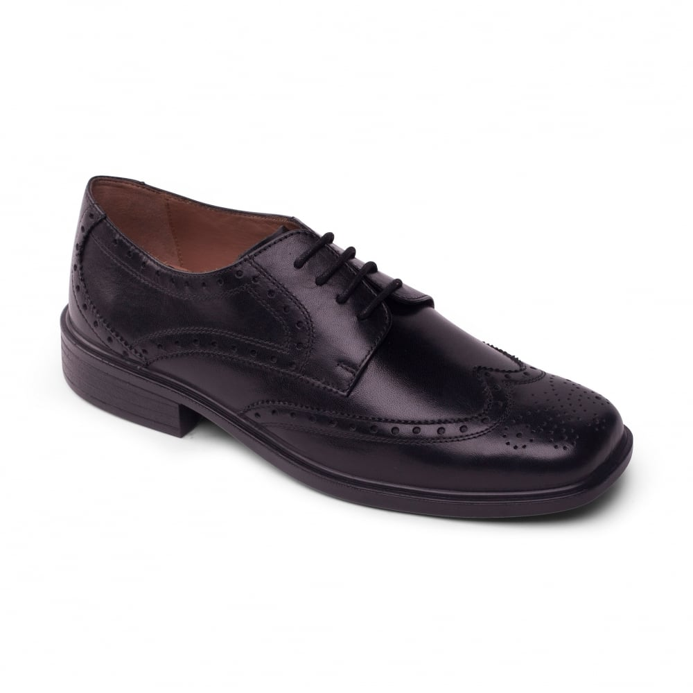 padders mens black polished shoes free returns at