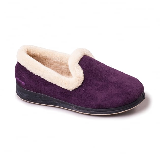 Padders Repose Lilac Slippers