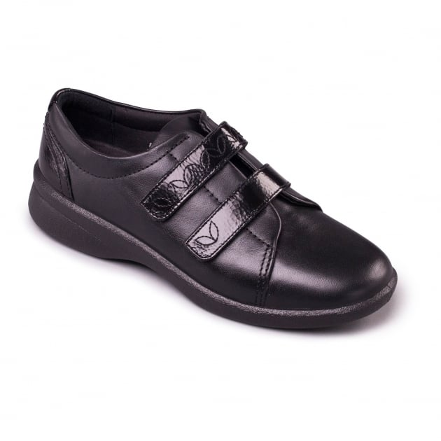 Padders Revive 2 639N Black Combination Shoes