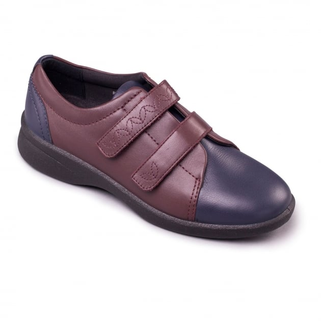 Padders Revive 2 639N Navy/Bordeaux Shoes