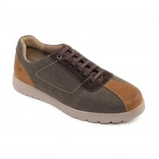 Padders Rewind Brown Combination Shoes