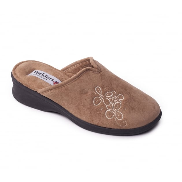 Padders Sable 4003 Camel Slippers