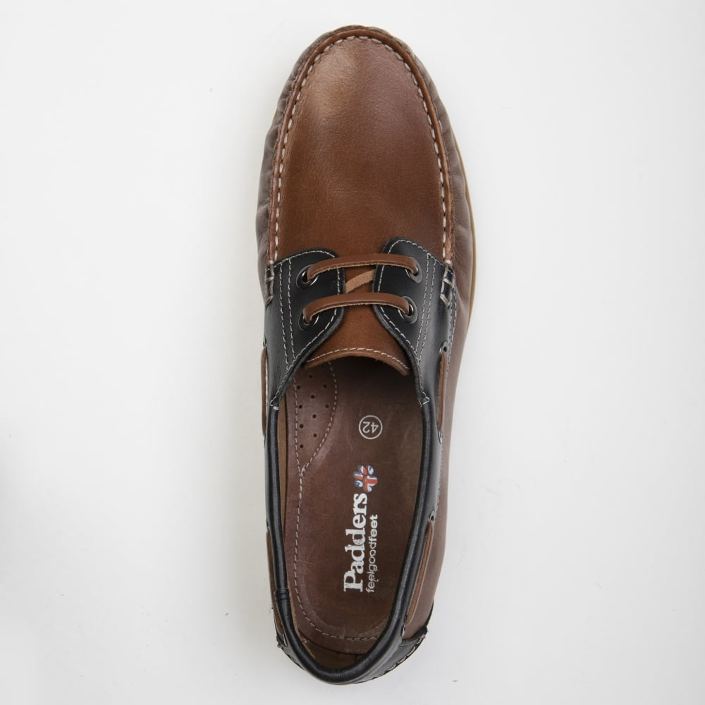 Leather Jones Deck Style Shoes