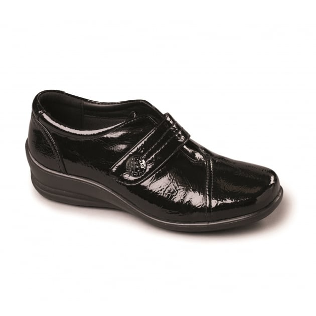 Padders Simone 200 Black Shoes