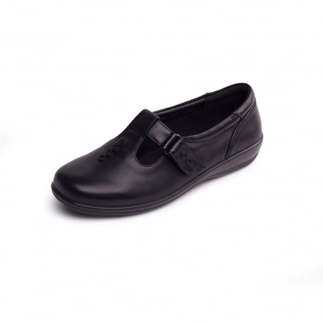 Padders Solo 660 Black Shoes