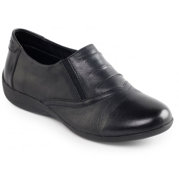 Padders Valley Black Shoes