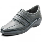 Padders Velvet 612 Ee Fit Navy Combi Shoes