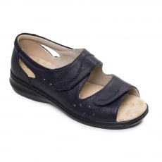 Padders Wave 2 Navy Sandals