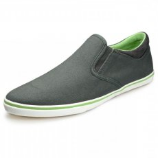 Pod Jetty Grey/Lime Canvas