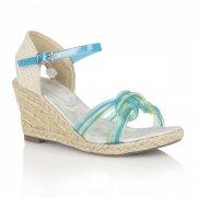 Posh Jellies Sancho 686 Blue Multi Sandals