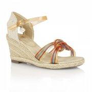Posh Jellies Sancho 686 Orange Multi Sandals