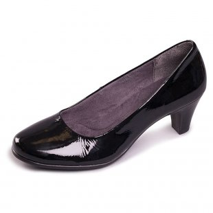 Aerosoles Red Hot 1043 Black Patent Shoes