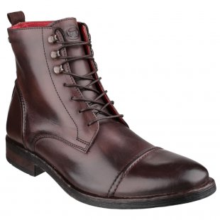 Base London Clapham Burnish Cocoa Boots
