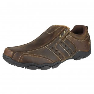 Skechers Diameter Heisman Sk61779 Chocolate/Dark Brown Shoes