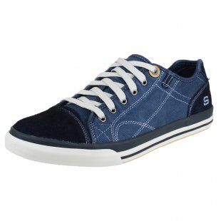Skechers Diamondback Levon Sk64025  Navy/Grey Shoes