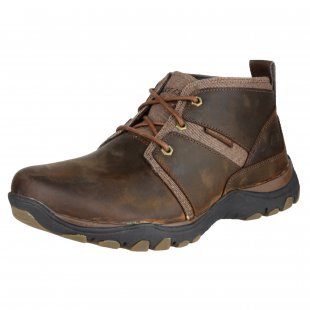 Skechers Artifact-Lutador Sk64220 Dark Brown Boots
