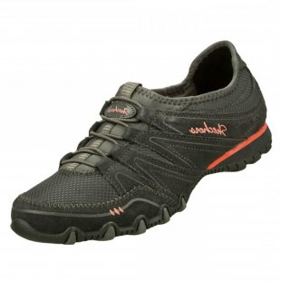 Skechers Bikers Sole Charmer Sk22403 Charcoal Shoes