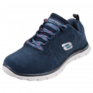 Skechers Flex Appeal Casual Way Navy Shoes