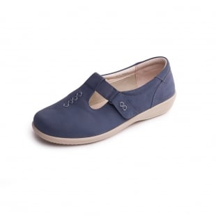 Padders Solo 660 Denim (Blue) Shoes