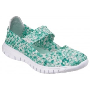 Divaz Drift Green Sandals