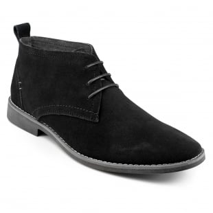 Front Roscoe (Fr7222) Black Boots