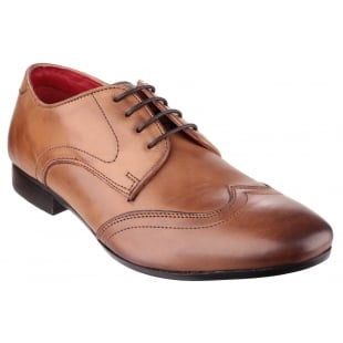 Base London Orwell Burnished Tan Shoes