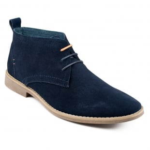 Front Roscoe (Fr6992) Navy Boots