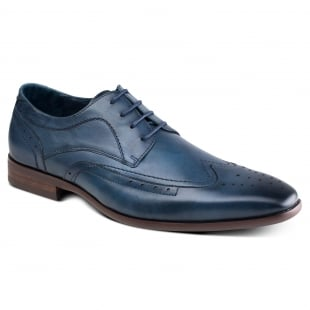 Azor Shoes Catania Zm3761 Blue Shoes