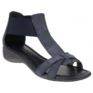The Flexx Band Together Nubuck Navy Sandals
