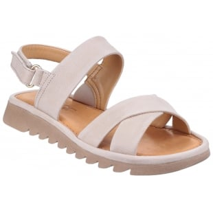 The Flexx Walk A Beat Nubuck Corda Sandals