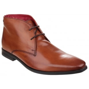 Base London Henry Waxy Tan Boots