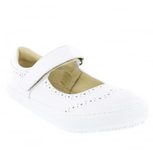 Marta Jonsson Womens Leather Sneaker 5292L White Shoes