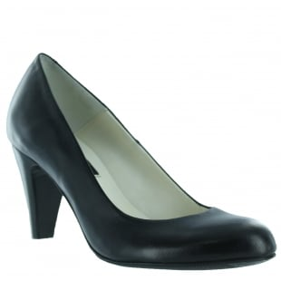 Marta Jonsson Womens Court Shoe 6118L Black Shoes