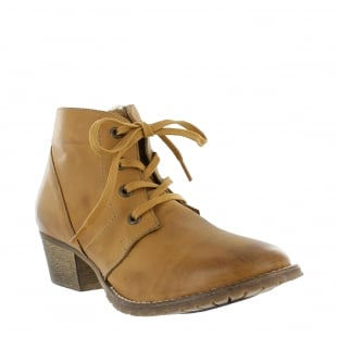 Marta Jonsson Womens Ankle Boots 6533L Tan Boots