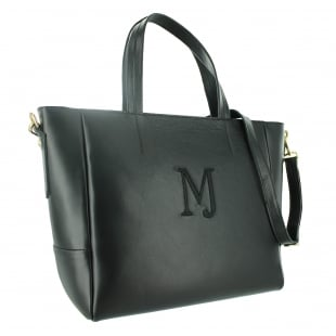 Marta Jonsson Leather Shoulder Bag 8364L Black
