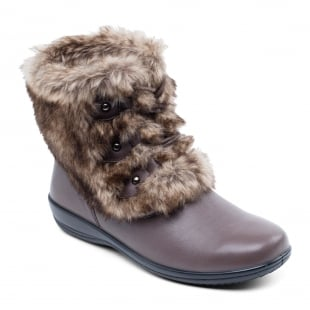 Padders Kim 530 - Ee/Eee Fit Taupe Boots