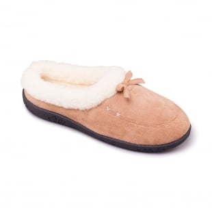 Padders Snug 480 - Ee Fit Camel Slippers