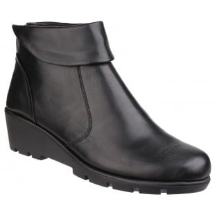 The Flexx Slangvage Cashmere Black Boots